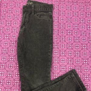 Gap Kids boys gray corduroy pants Sz 8 slim NWOT